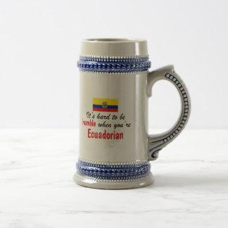 Ecuadorian humilde jarra de cerveza