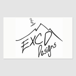 ECXD diseña al pegatina