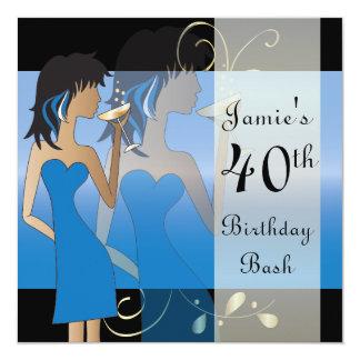 Edad del golpe el | DIY de la fiesta de cumpleaños Invitación 13,3 Cm X 13,3cm
