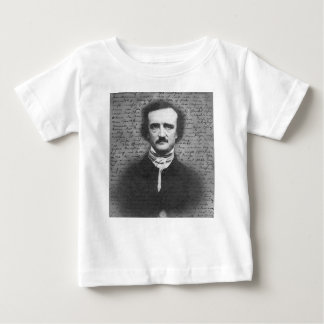 Edgar Allan Poe Camiseta De Bebé