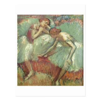 Edgar Degas - bailarines en el pastel 1898 del bal Tarjeta Postal