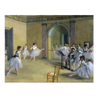Edgar Degas el | el salón de la danza Postal