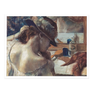 Edgar Degas - en el bailarín de papel del pastel d Postales