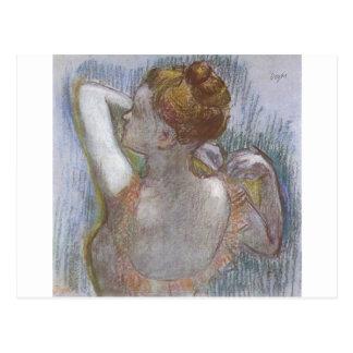 Edgar Degas - pastel 1899 del ballet de la bailari Postales