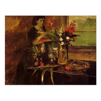 Edgar desgasifica el retrato de Mme. Rene De Gas Postal