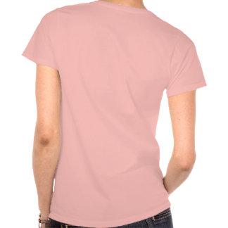 Edición de la mujer de SHECKSHE COM-_-SheckShe -_- Camisetas