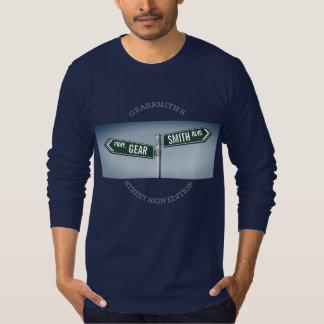 Edición de la placa de calle de Gearsmith del Camiseta