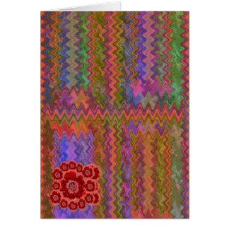 Edición de los colectores - color de rosa rosado tarjeta de felicitación