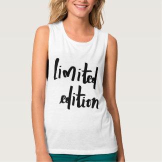 edición limitada camiseta con tirantes