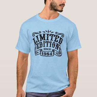 Edición limitada desde 1984 camiseta