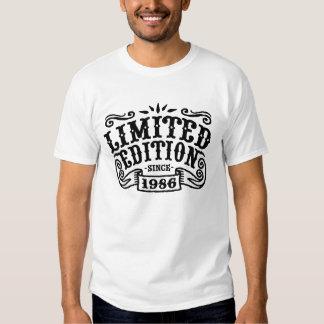 Edición limitada desde 1986 camisas