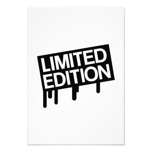 Edición limitada anuncios personalizados
