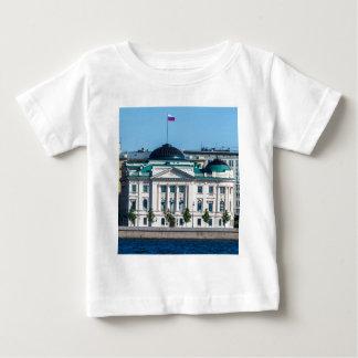 edificio de oficinas de la Soviet-era Camiseta De Bebé