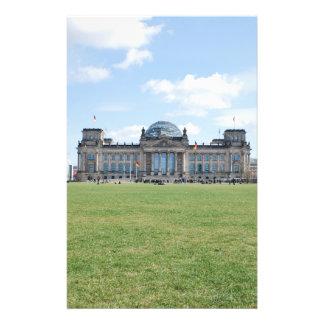 Edificio de Reichstag - Berlín Alemania Tarjetas Publicitarias
