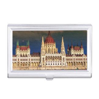 Edificio húngaro del parlamento en Budapest, Cajas De Tarjetas De Visita