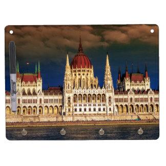 Edificio húngaro del parlamento en Budapest, Pizarras Blancas
