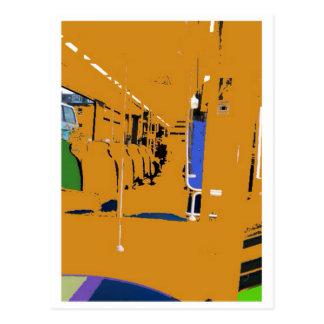 Edimburgo viaja en tranvía la postal
