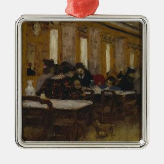 Eduardo Vuillard- el pequeño restaurante Adornos De Navidad