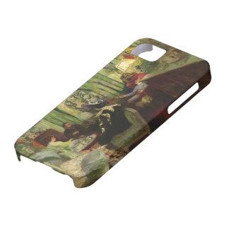 Eduardo Vuillard- el salón de señora Aron iPhone 5 Case-Mate Coberturas
