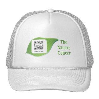 Educación de la naturaleza de la plantilla del gorras de camionero