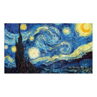 Educación del arte para los niños y los adultos: tarjetas de visita