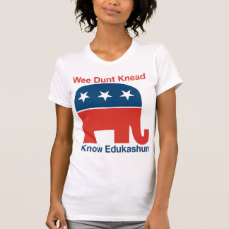 Edukashun - la camiseta de las mujeres