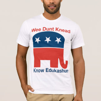 Edukashun - la camiseta de los hombres