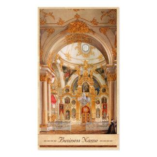 Edward Petrovich - catedral en el palacio del invi Tarjetas De Visita