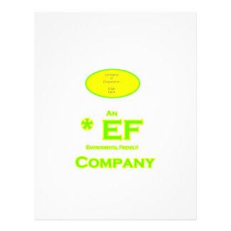 EF - compañía respetuosa del medio ambiente 2 Tarjetones