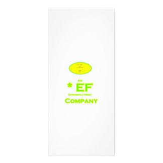 EF - Envirnomentally Company1 amistoso Plantillas De Lonas