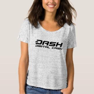 Efectivo de Digitaces para mujer de la camiseta de