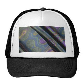efecto 8, púrpura gorros bordados