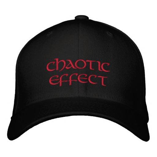 Efecto caótico gorra bordada