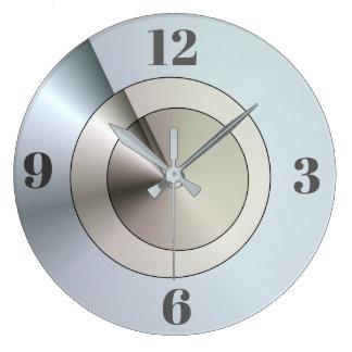 Efecto de acero azul de Contempory > relojes