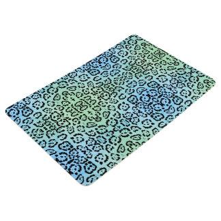 Efecto de la pintura del aceite animal del gato de alfombra