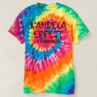 Efecto de Mandela es camiseta espiral de suceso