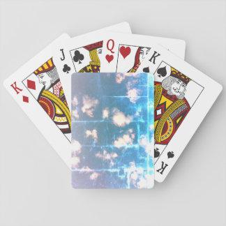Efecto gastado baraja de cartas