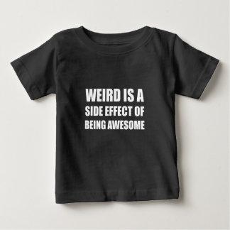 Efecto secundario extraño que es impresionante camiseta de bebé