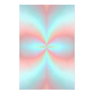 Efectos de escritorio abstractos magnéticos papelería