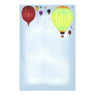 Efectos de escritorio de Balloons~ del aire del Papelería