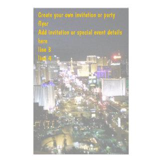 Efectos de escritorio de Las Vegas Boulevard Papelería Personalizada