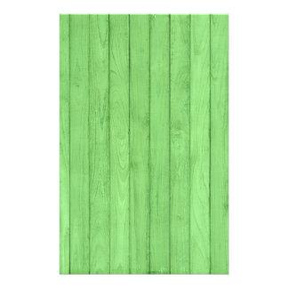 Efectos de escritorio de madera del navidad papeleria personalizada