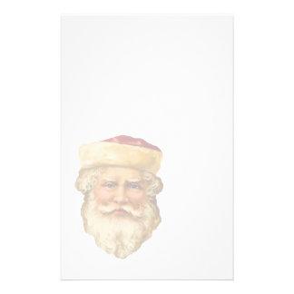 Efectos de escritorio de Santa del vintage en el Papeleria Personalizada