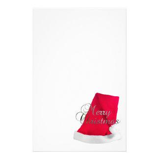 Efectos de escritorio del gorra de Santa Papelería De Diseño