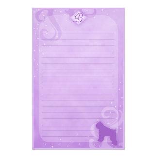 Efectos de escritorio mágicos púrpuras del DES Fla Papelería De Diseño