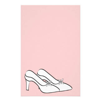 Efectos de escritorio nupciales de los zapatos nup papelería de diseño