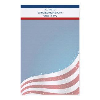 Efectos de escritorio personales de la bandera papeleria de diseño