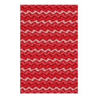Efectos de escritorio rojos ondulados  papeleria