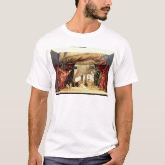 Efectúe el modelo para la ópera 'Tristan e Isolde Camiseta