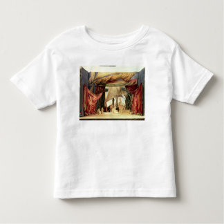 Efectúe el modelo para la ópera 'Tristan e Isolde Camiseta De Bebé